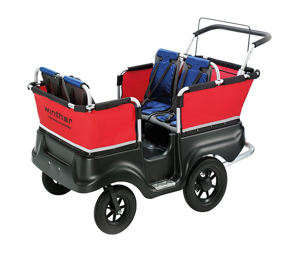 Winther® Turtle Kinderbus für 4 Kinder