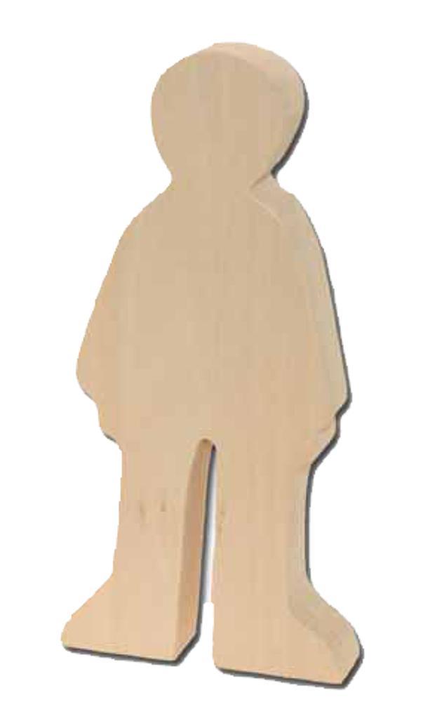 Holzrohling Junge