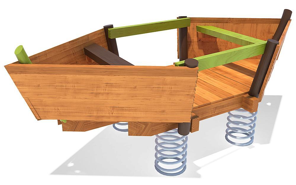 Bewegungsplattform Boot Tally