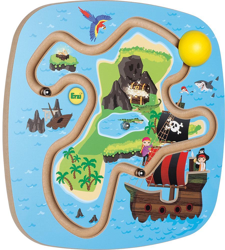 Erzi® Wandspiel Piratenschatz