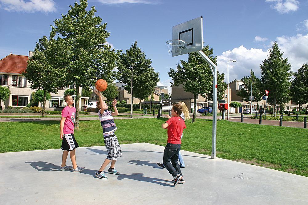 Basketballanlage Robust