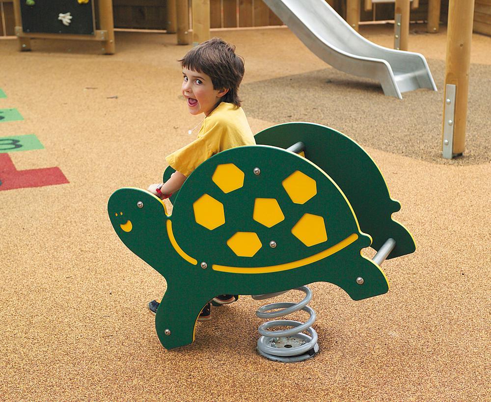 Federwippe Schildkröte