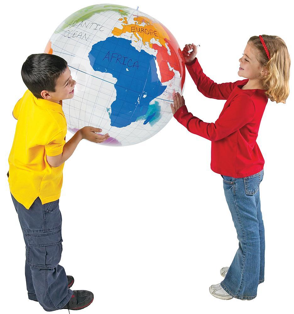 Beschreibbarer Globus