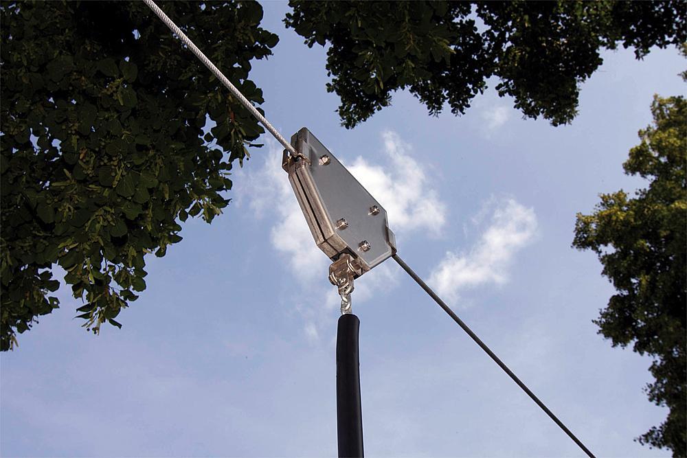 Seilbahn Fjall 20 m