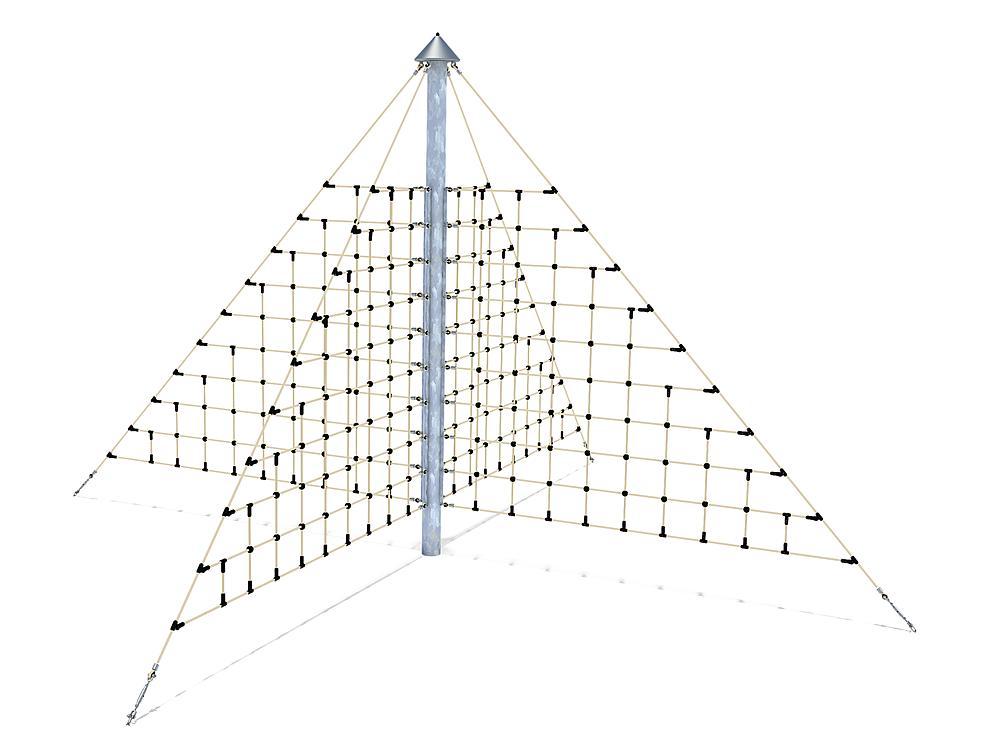 Seilnetz X Pyramide Maxi