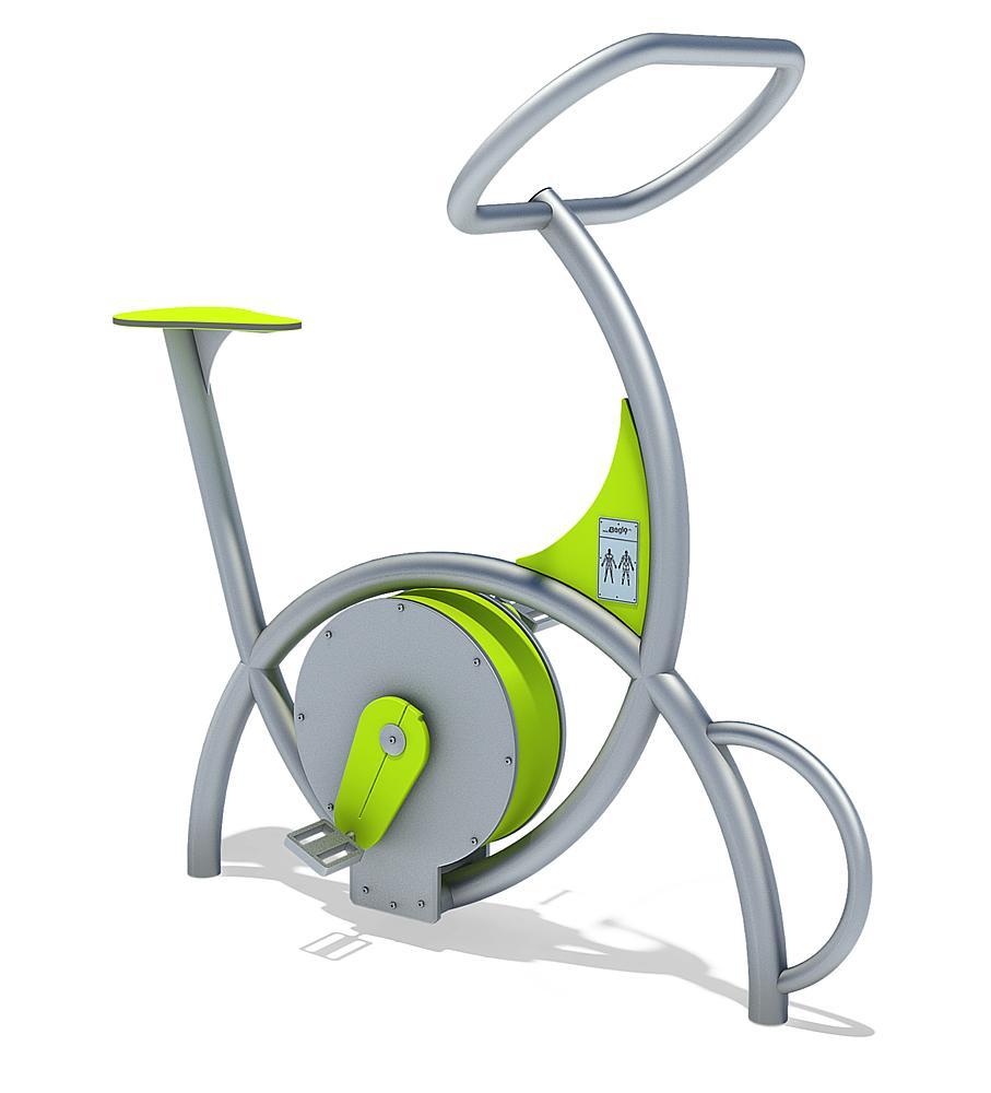 Bewegungs-Station Fahrrad
