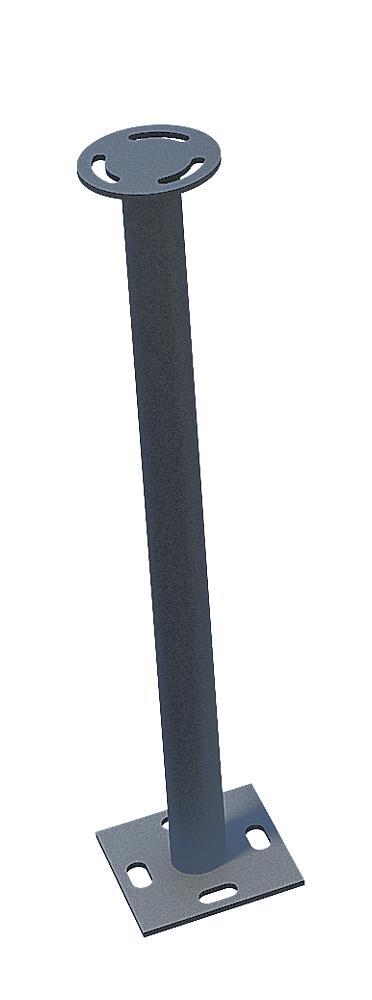 Edelstahlfuß 20 cm