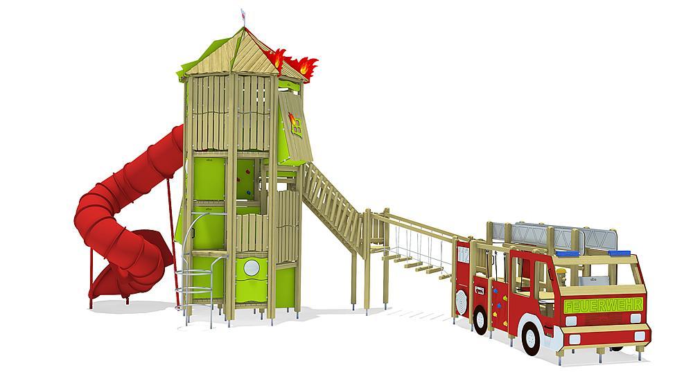 Feuerwehr Kombination, Solo