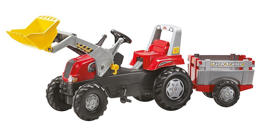 Tretttraktor Farm Trailer