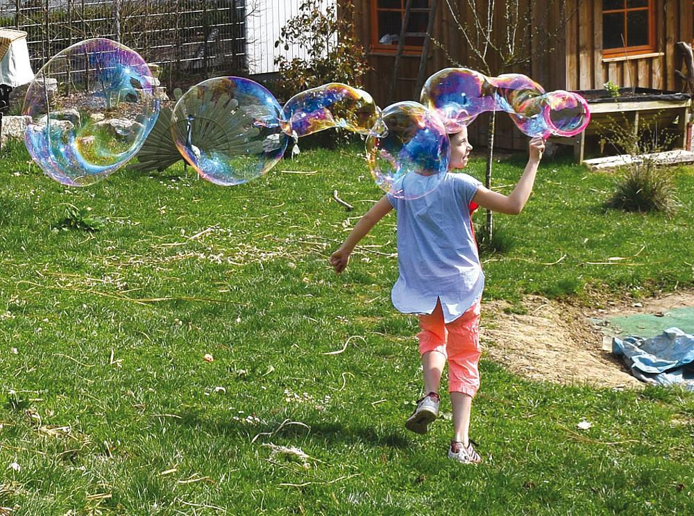 Riesenseifenblasen Set
