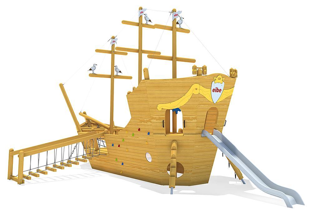 Spielschiff Santa Maria, Solo