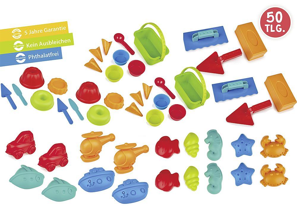 Sandspiel-Set Formen & Bauen