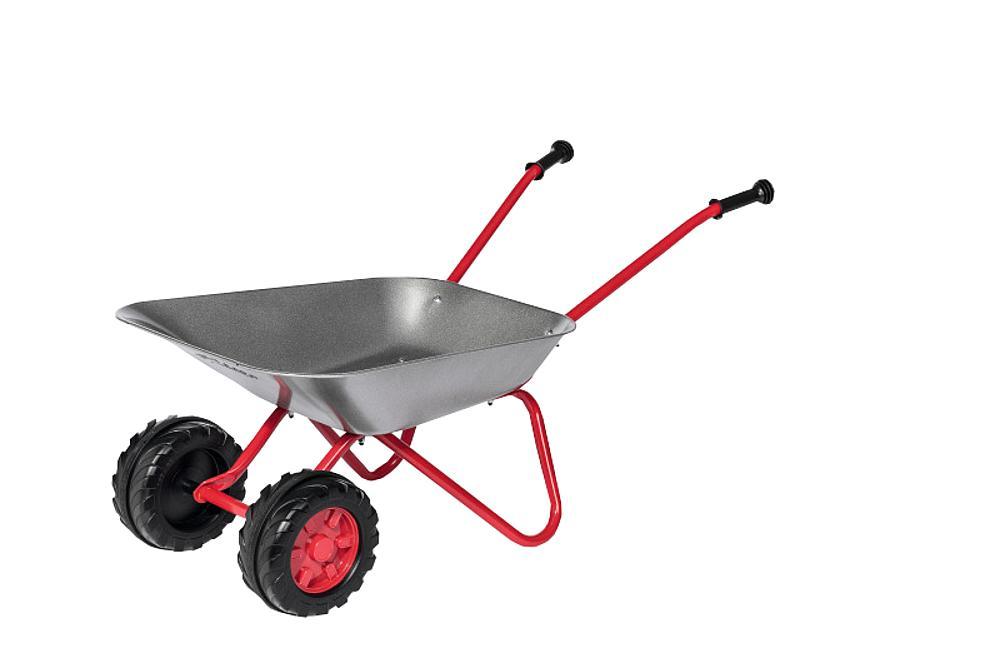 Doppelrad-Metallschubkarre