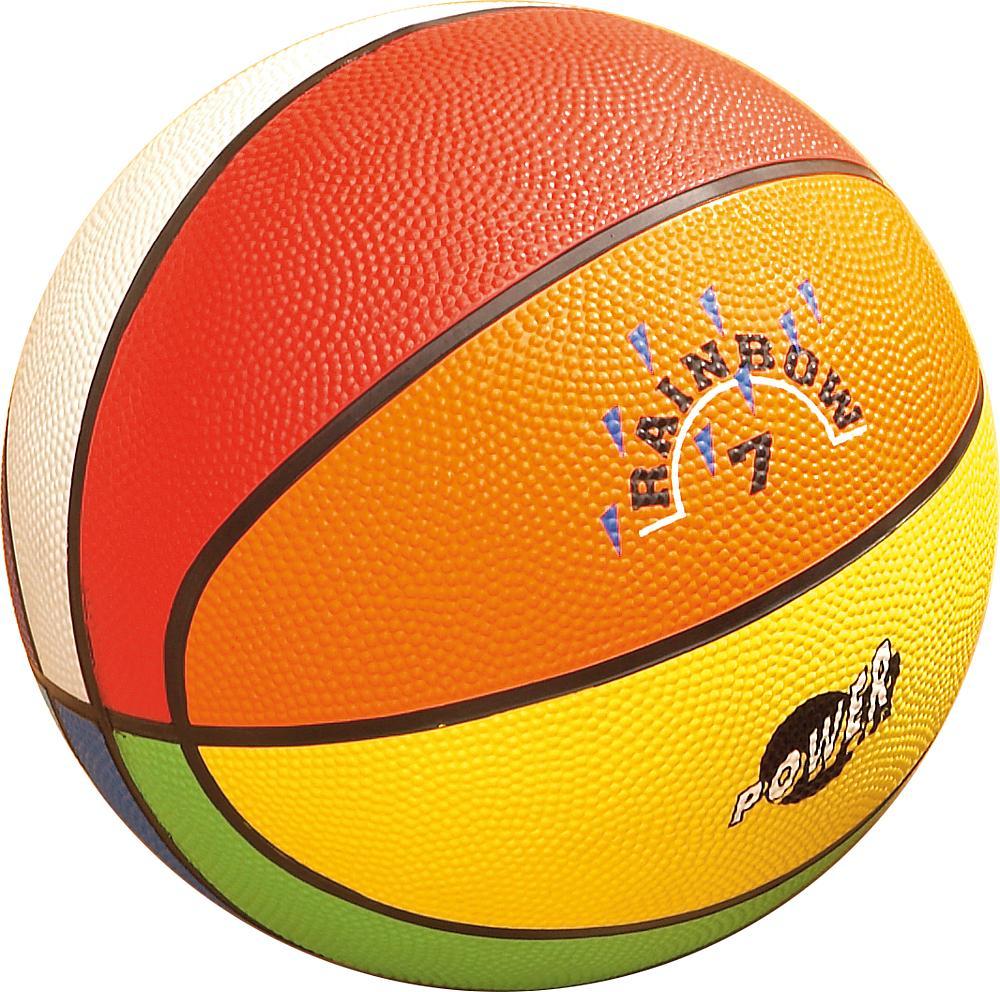 Basketball Regenbogen Größe 5