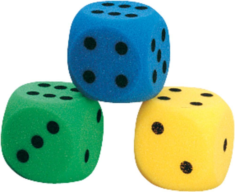 Volley® Schaumstoff-Augenwürfel-Set