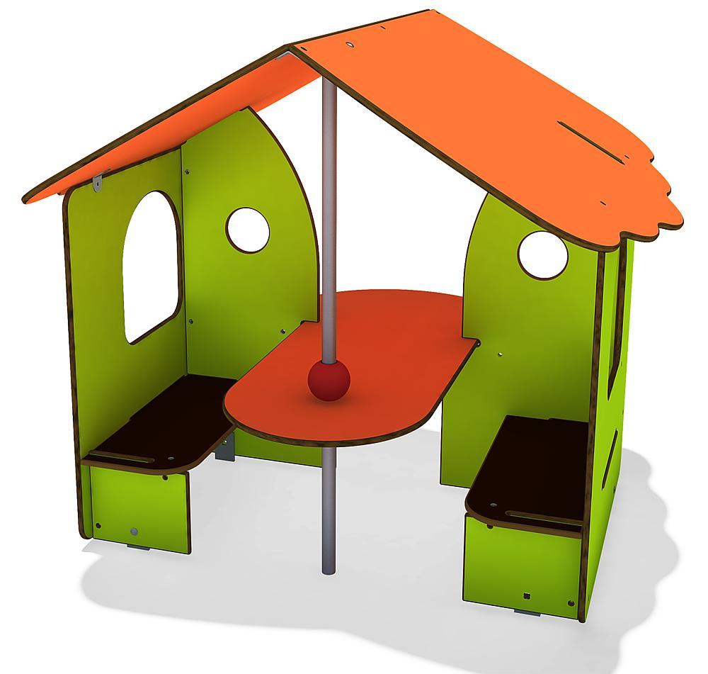 Spielhaus Aprikose