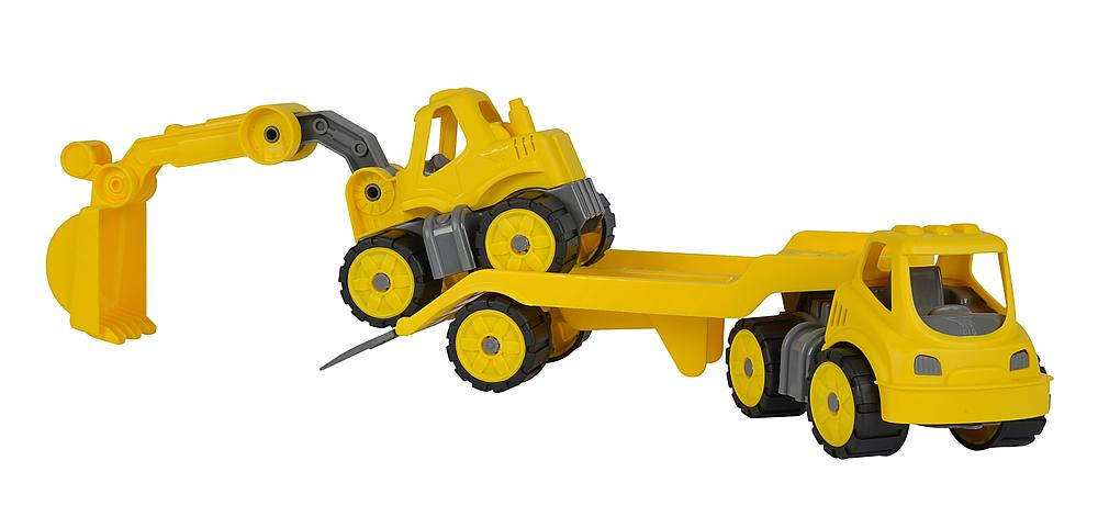 BIG® Power-Worker Mini Transporter mit Bagger