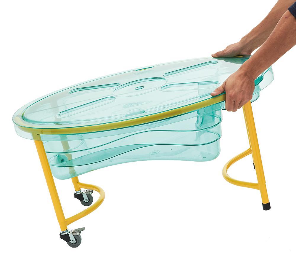 Wasserspieltisch transparent