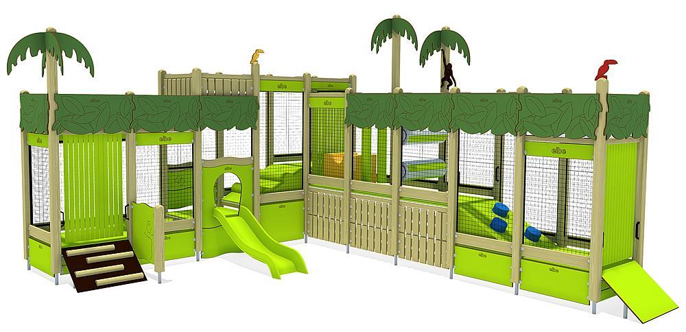 Indoorspielanlage Dschungel
