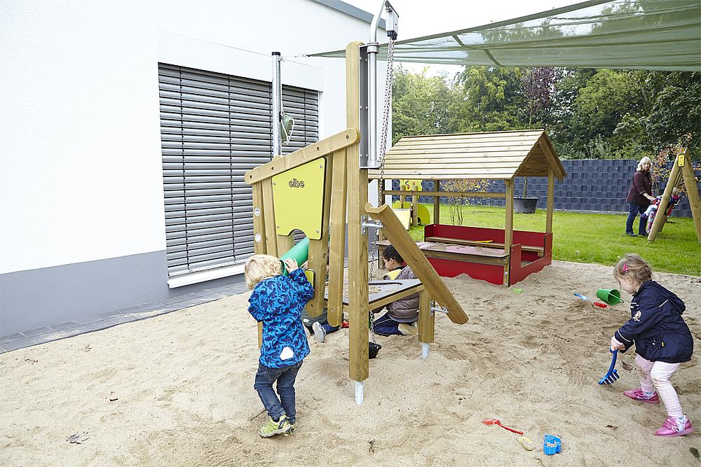 Sandbaustelle Kleinspecht