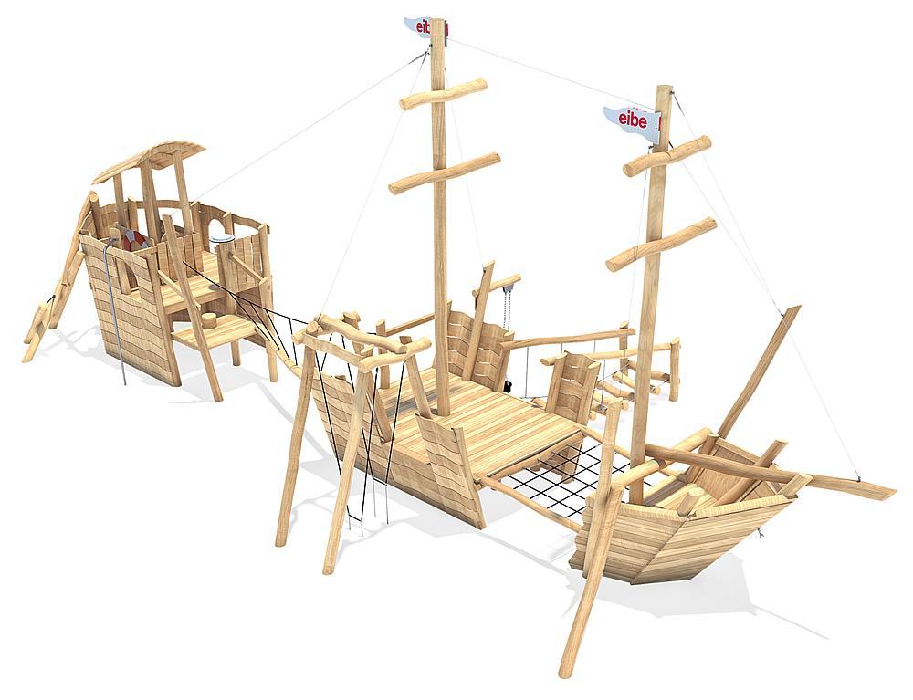 Spielschiff Trilogie