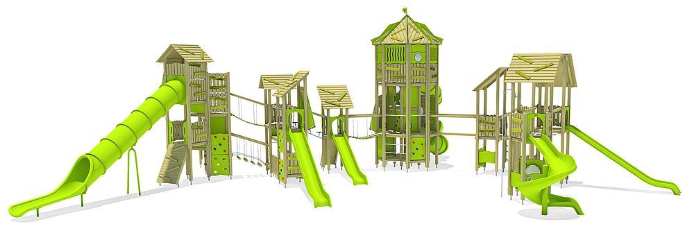 Spielanlage Zugspitze, Solo