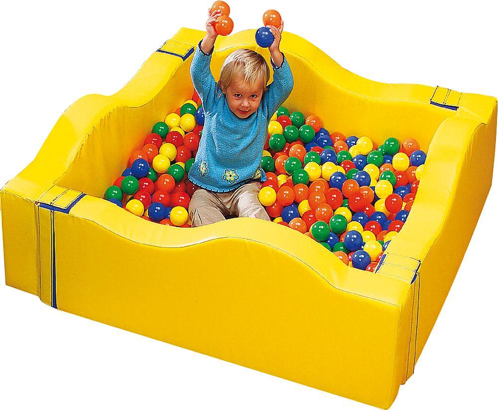 eibe geoform Ballbad für Babys, quadratisch